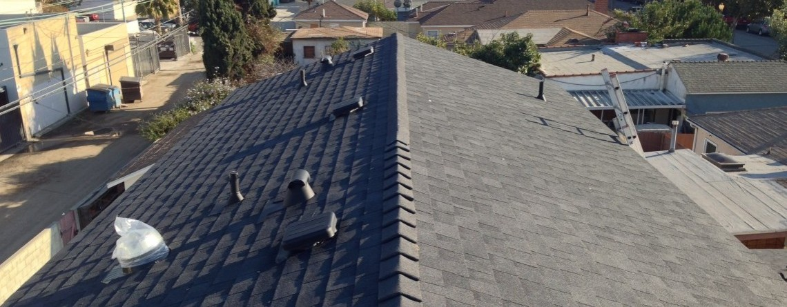 Beautiful Roof Installation For New Construction In Culver City, CA