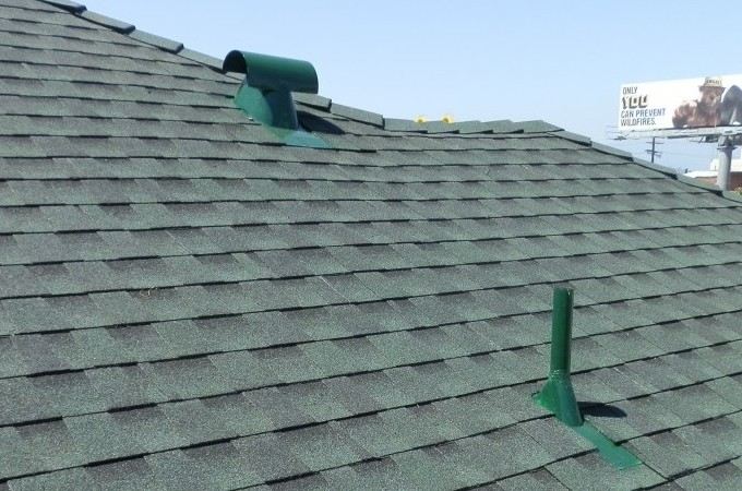 Los Angeles Reroofwith GAF Shingles