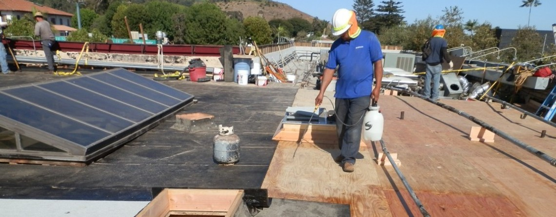 Commercial Roof Construction in Malibu, CA