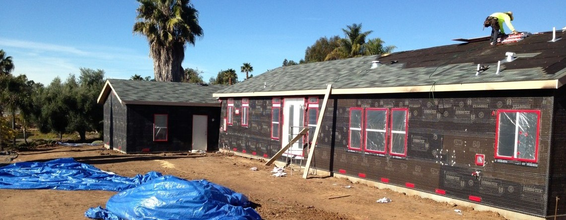 Roof Installation for New Construction in Vista, CA